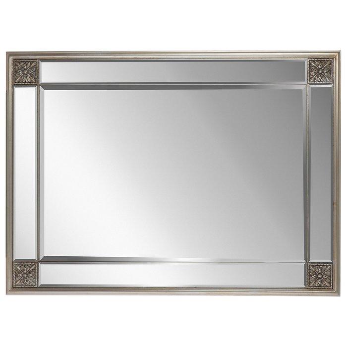 Зеркало настенное Больцано шампань серебро