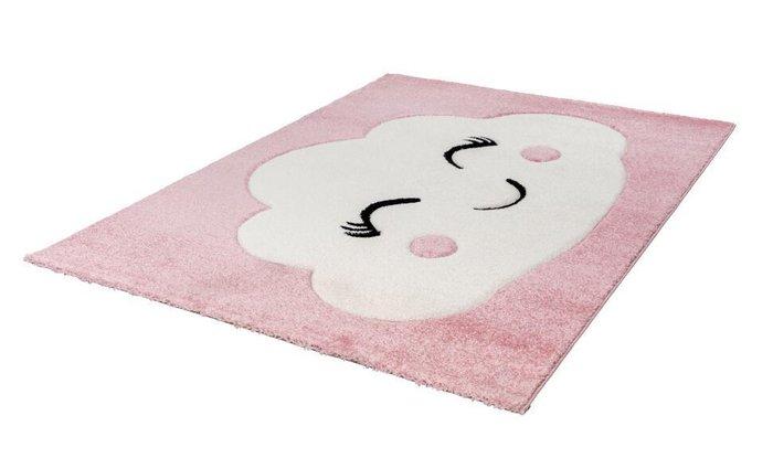 Детский ковер Amigo Cloudy Pink розового цвета 80х150