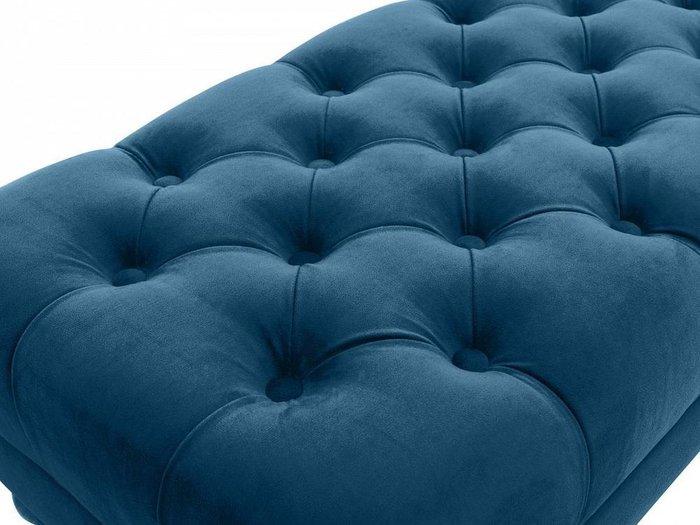 Банкетка Jazz Малая синего цвета