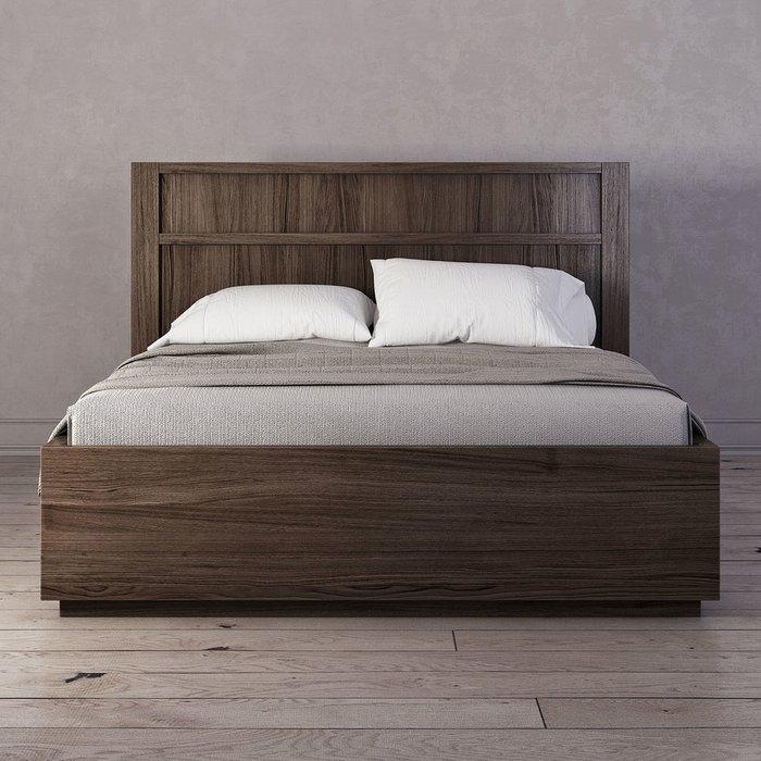 Кровать Brenson коричневого цвета 180х200