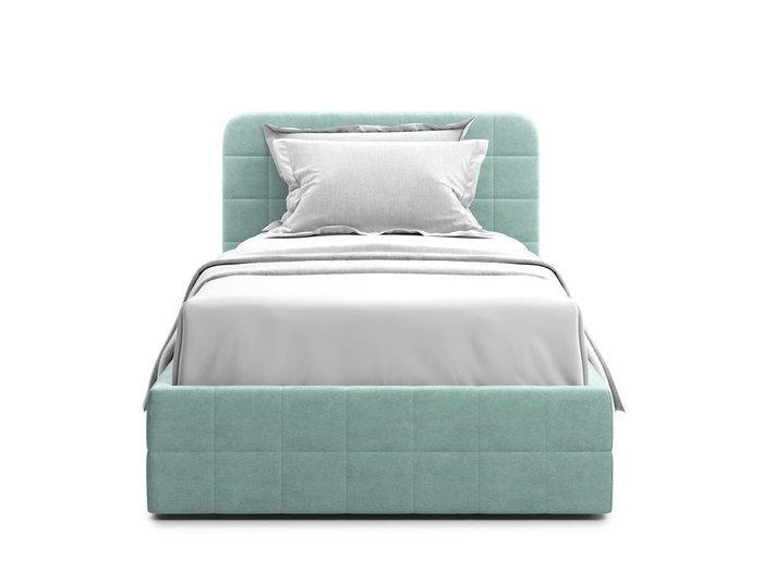 Кровать с подъемным механизмом Adda 120х200 мятного цвета