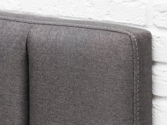 Кровать Клэр 160х200 темно-серого цвета с подъемным механизмом