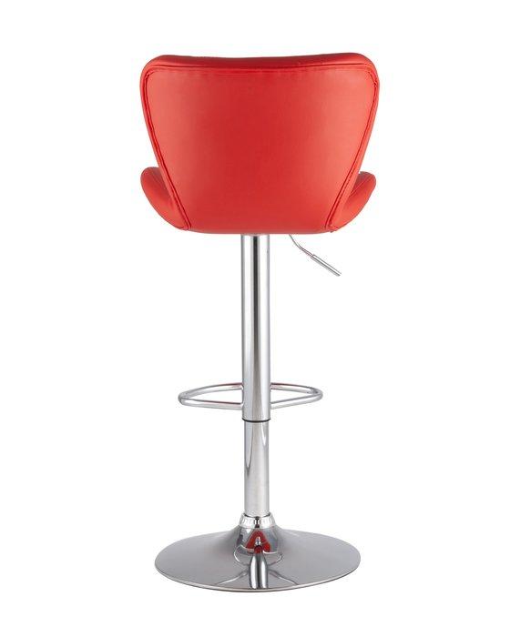 Барный стул Porsche красного цвета