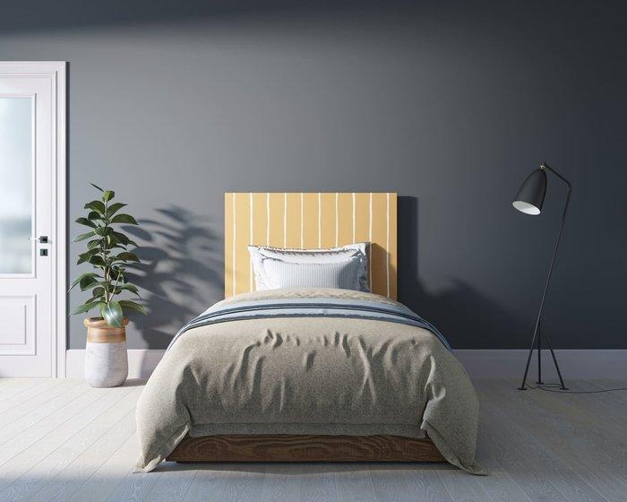 Кровать Berber 120х200 бежево-желтого цвета