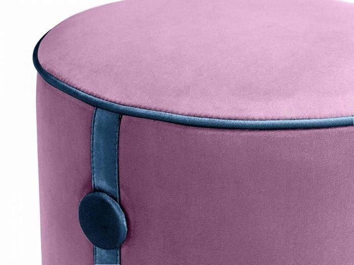 Пуф Drum Button фиолетового цвета