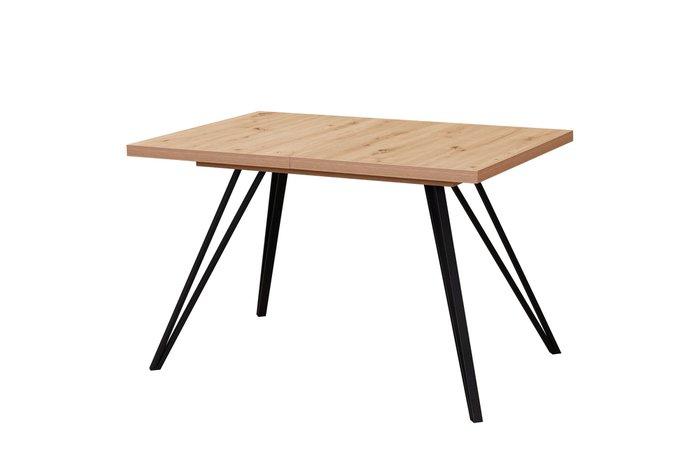 Обеденный стол Life черно-коричневого цвета