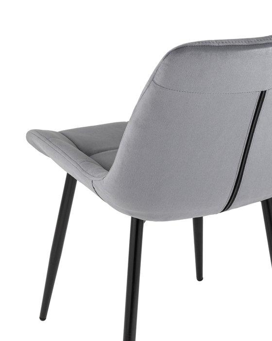 Стул Флекс серого цвета