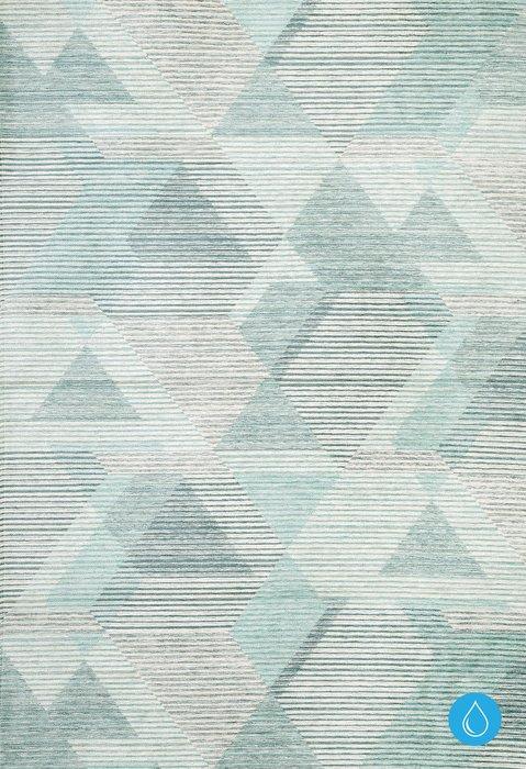 Ковер Flight Aqua серо-голубого цвета 160х230