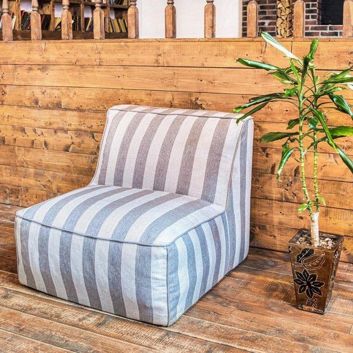 Кресло Quadro Design Line с полосатым принтом