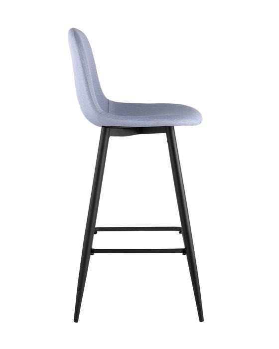 Барный стул Валенсия небесно-голубого цвета