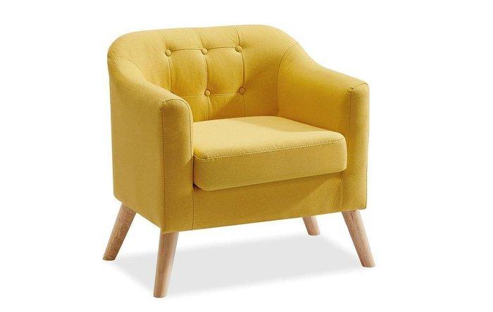 Кресло Jazz желтого цвета