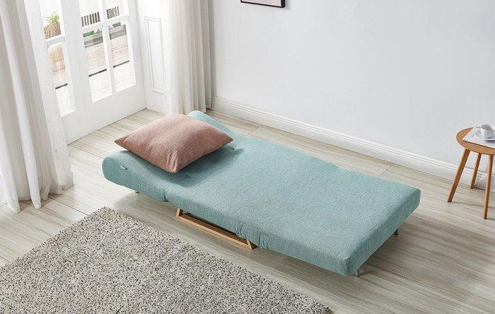 Кресло-кровать Rosy мятного цвета