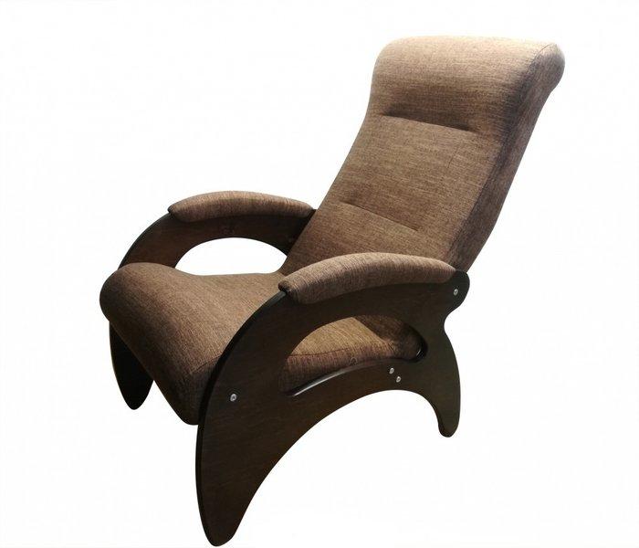Кресло Мария темно-коричневого цвета