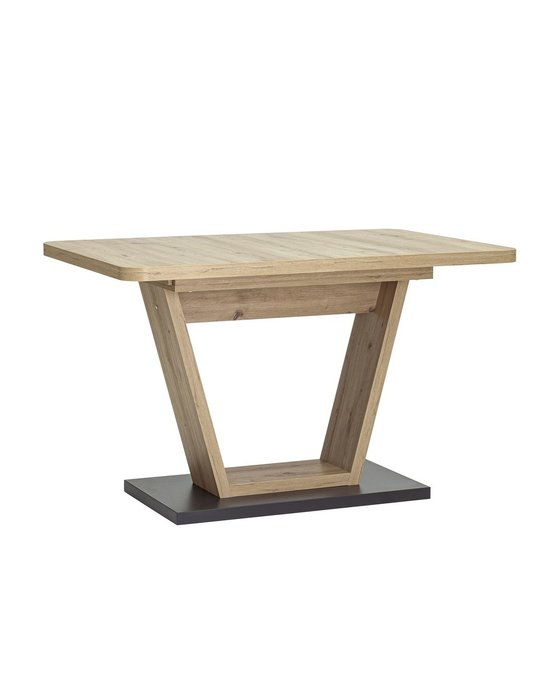 Обеденный раскладной стол Vector цвета беленый дуб