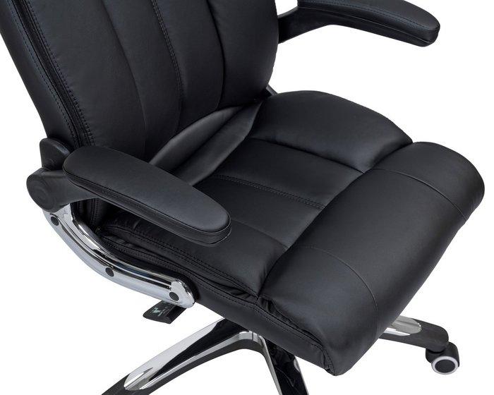 Офисное кресло для руководителей Ronald черного цвета