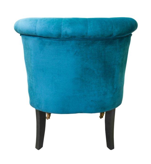 Низкое кресло Aviana blue velvet