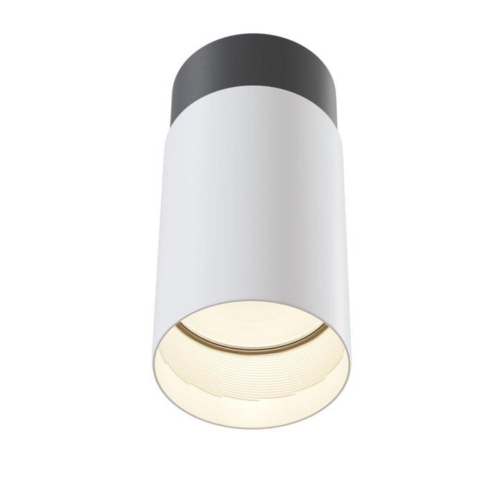 Потолочный светильник Sonas черно-белого цвета