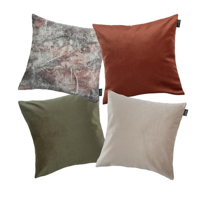 Набор из четырех чехлов для подушек Maro Onix