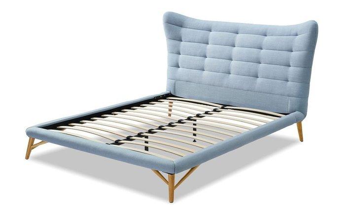 Кровать Venezia 180х200 голубого цвета