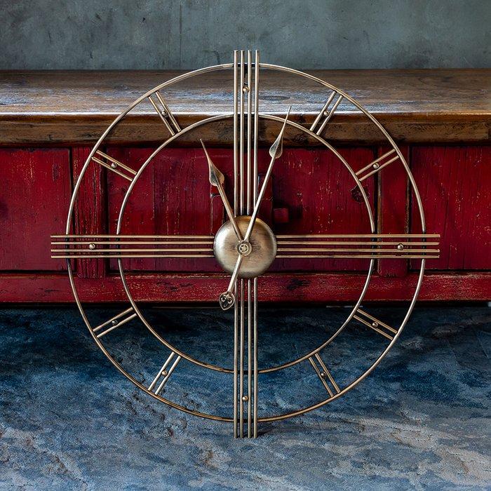 Часы настенные Блез Бронз бронзового цвета