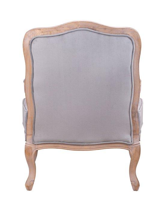 Кресло Nitro grey velvet серого цвета