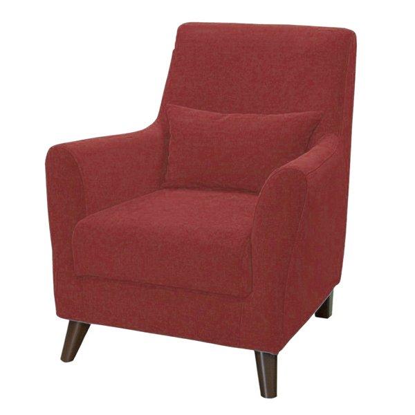 Кресло Либерти красного цвета