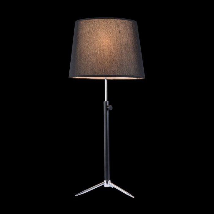 Настольная лампа Monic с черным абажуром