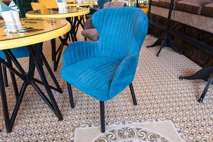 Дизайнерское кресло Nicoletta желтого цвета