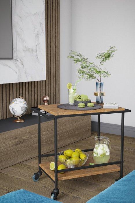 Кофейный столик Калифорния Фрэнки цвета дуб американский