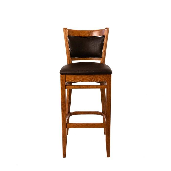 Барный стул Favorite с каркасом из массива бука