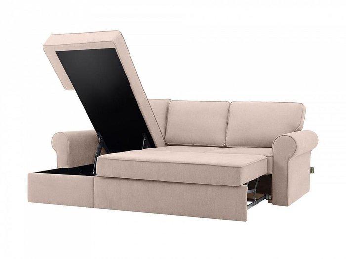 Угловой диван-кровать Murom бежевого цвета
