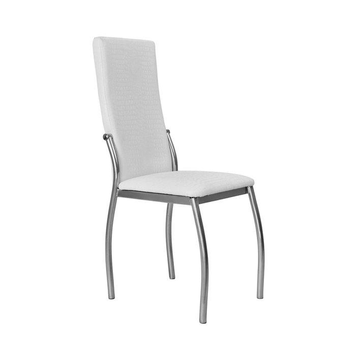 Кухонный стул Пекин №8 Серебро белого цвета
