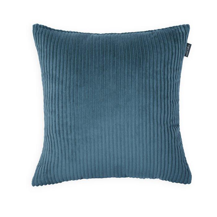 Декоративная подушка Cilium Blue синего цвета