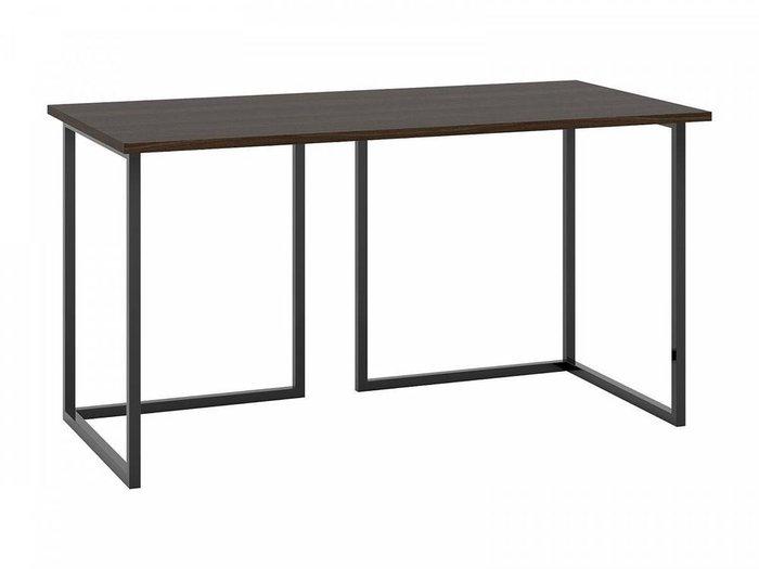 Письменный стол Board 70х140 с черным основанием