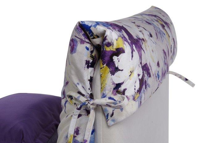 Кровать Lounge 120х200 с подъемным механизмом белого цвета