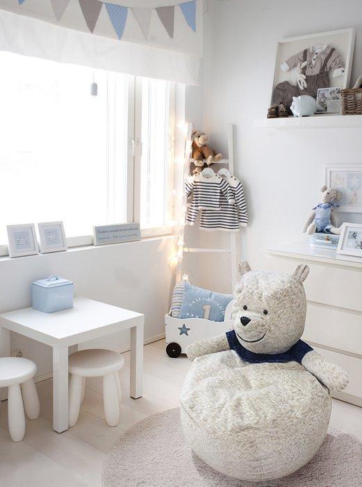Кресло мешок Полярный мишка