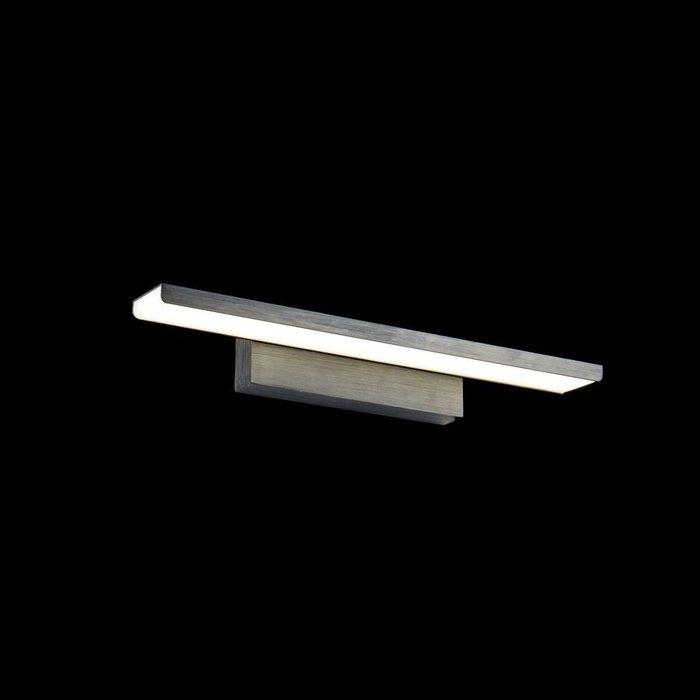 Подсветка для зеркал Gleam черного цвета