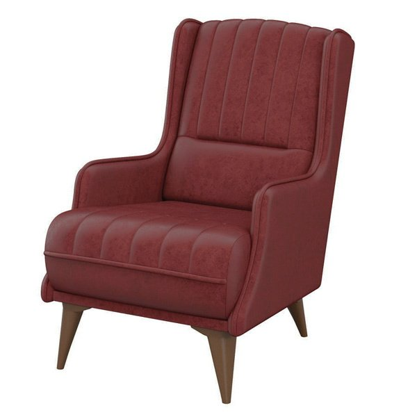 Кресло Болеро красно-коричневого цвета
