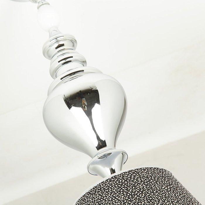 """Подвесной светильник Jago """"Galassia"""" из муранского стекла белого цвета"""