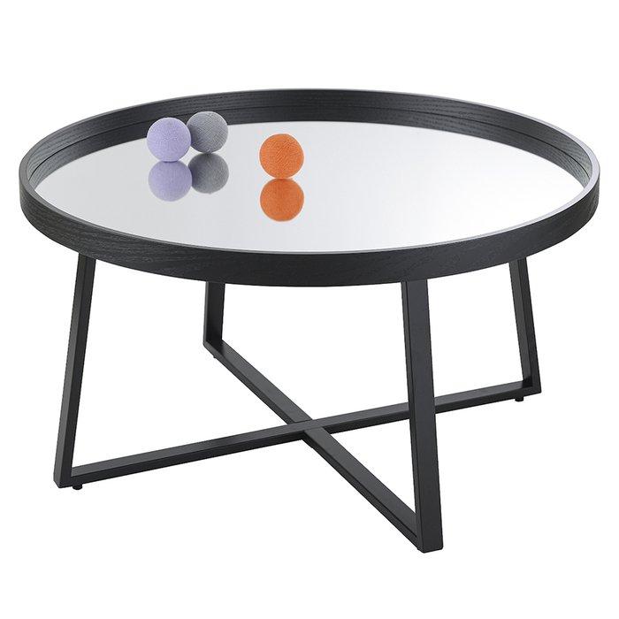 Столик кофейный Bisconti с зеркальной столешницей