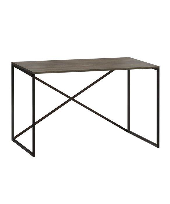 Стол письменный Бервин серого цвета