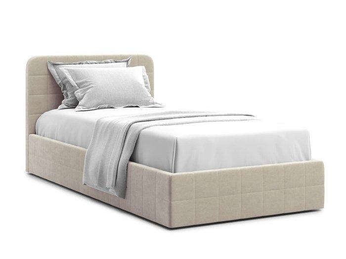Кровать с подъемным механизмом Adda 90х200 бежевого цвета