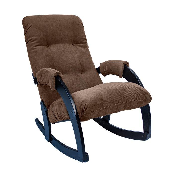 Кресло-качалка Модель 67 с обивкой Verona Brown
