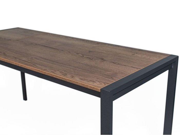Стол раздвижной Кастел коричневого цвета
