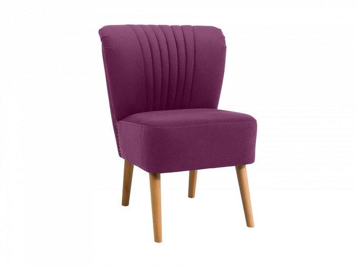 Кресло Barbara фиолетового цвета