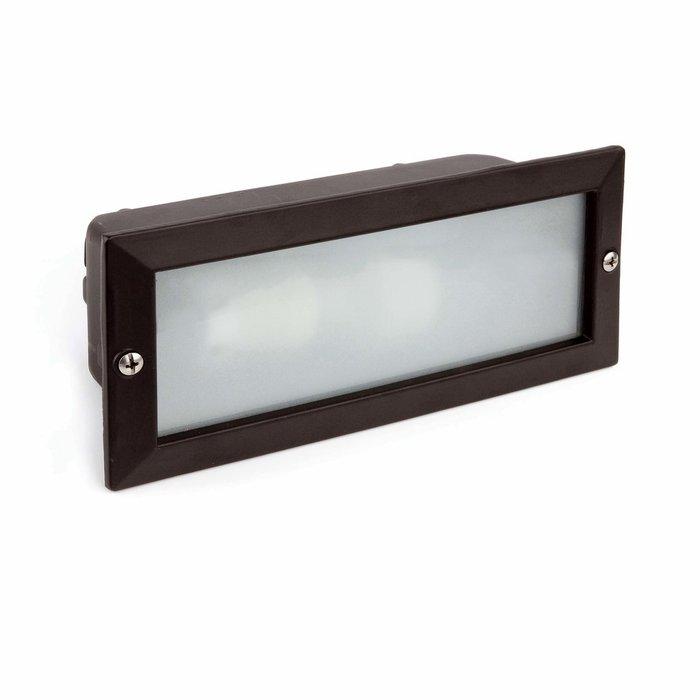 Встраиваемый светильник Faro Liso из алюминия и стекла