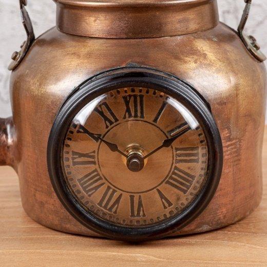 Часы настольные из металла