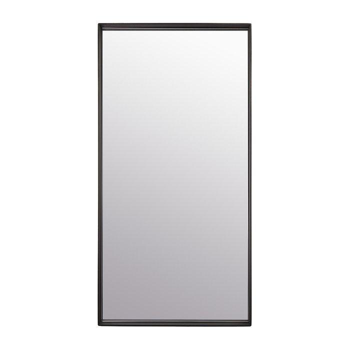 Зеркало настенное Скандинавия в черной раме