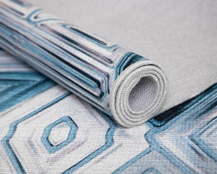 Ковер Ungaro Vitrage синего цвета 140х200