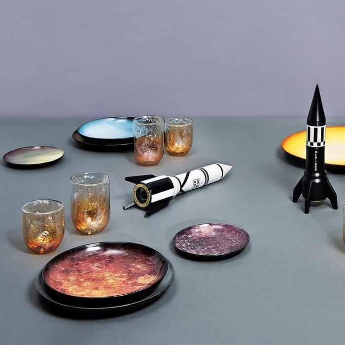 Тарелка Seletti Cosmic Dinner Plate Saturn
